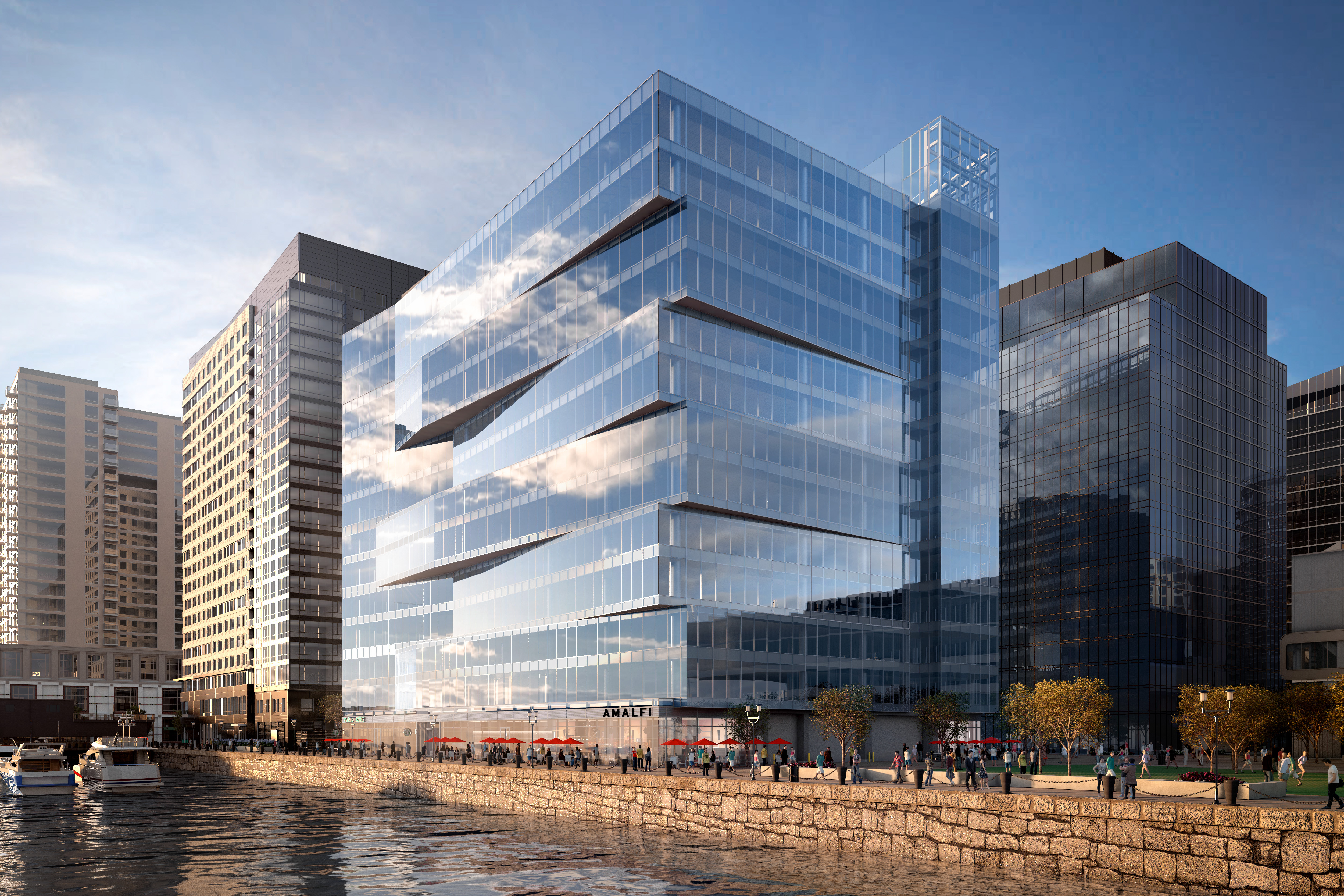 Tishman speyer unveils plans for anthony s pier 4 rob speyer for Design consultancy new york