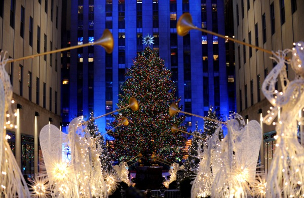 2015 Rockefeller Center Christmas Tree Lighting