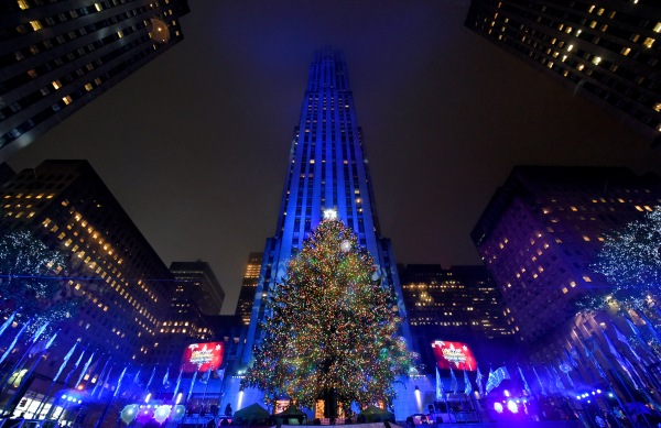 2016 Rockefeller Center Christmas Tree Lighting